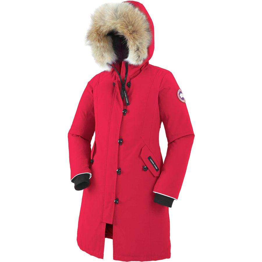 canada goose jakke kensington parka