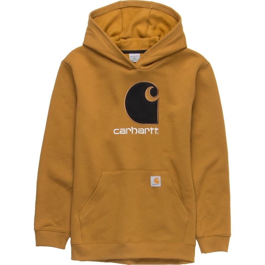 carhartt big c pullover hoodie boys 39. Black Bedroom Furniture Sets. Home Design Ideas