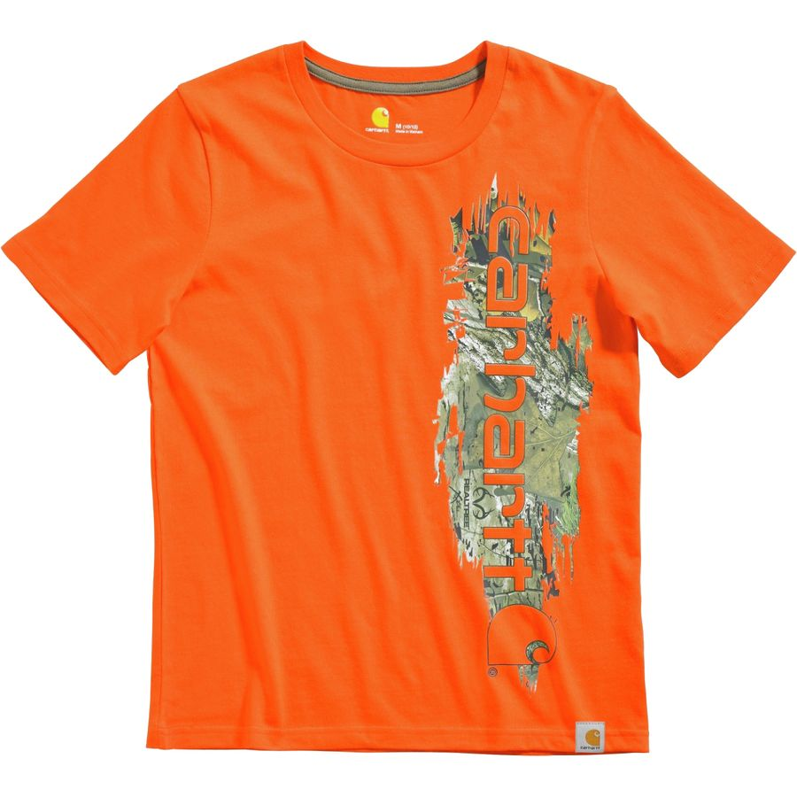 Carhartt Vertical Camo Graphic T Shirt Short Sleeve