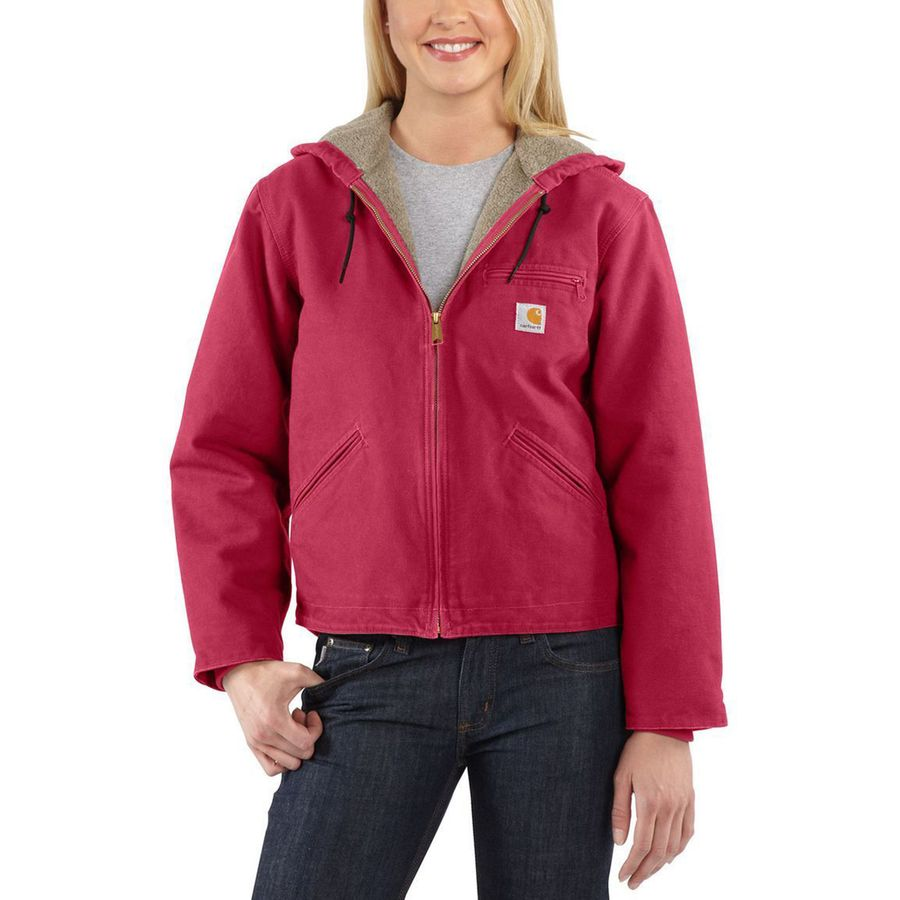 Carhartt Sandstone Sierra Hooded Jacket - Womenu0026#39;s | Backcountry.com