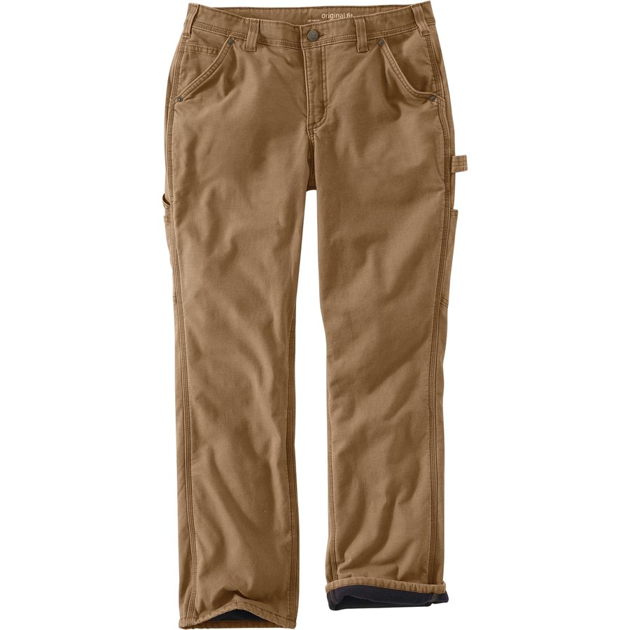 Choose men's lined pants and men's flannel lined pants from Cabela's with heavy-weight fabric that is tightly woven to be virtually snag-proof on the trail.