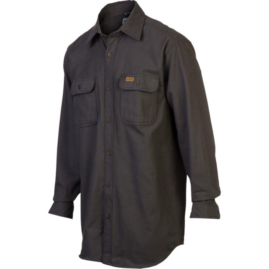 Carhartt chamois shirt long sleeve men 39 s for Carhartt men s chamois long sleeve shirt