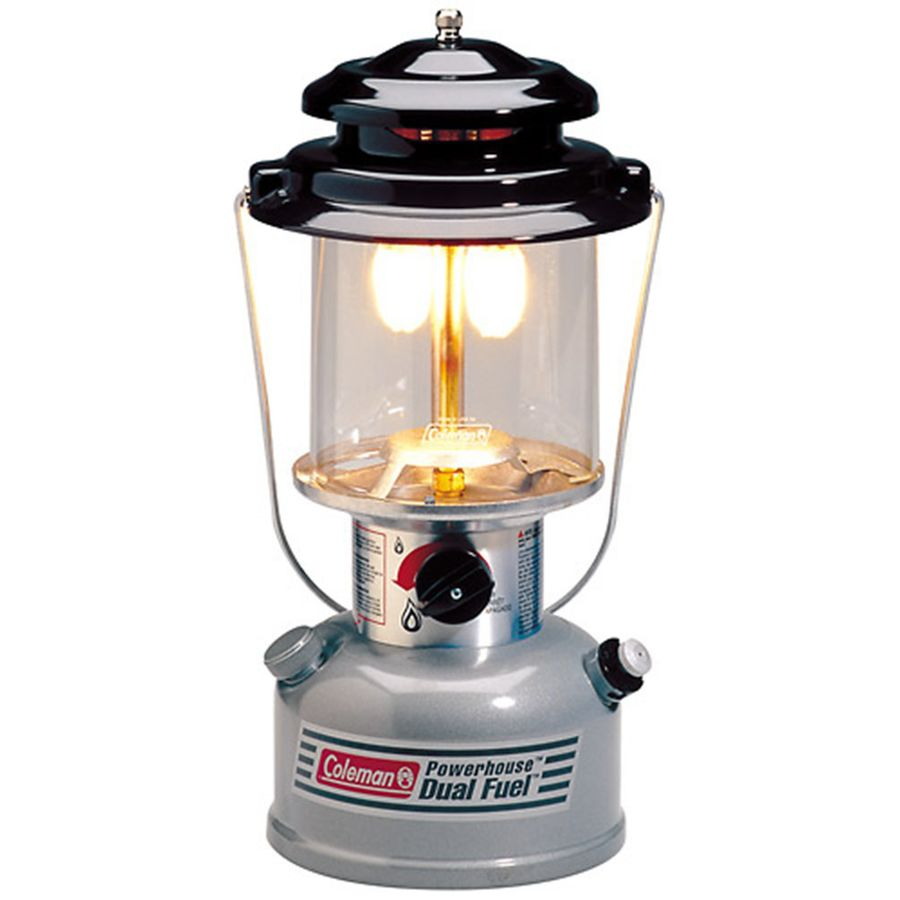 coleman dual fuel 2 mantle lantern backcountry