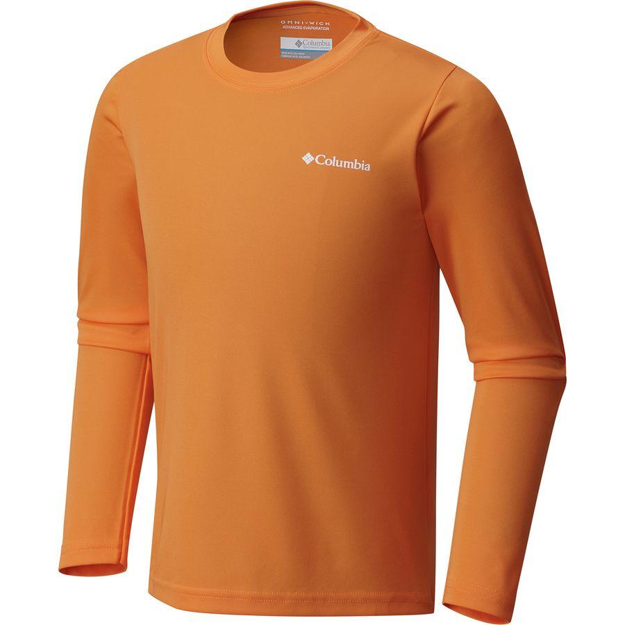 Columbia terminal tackle long sleeve shirt boys for Toddler columbia fishing shirt