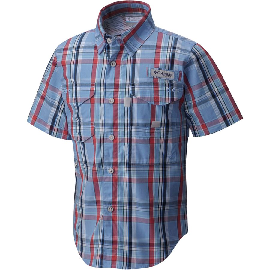 Columbia Super Bonehead Shirt Short Sleeve Boys