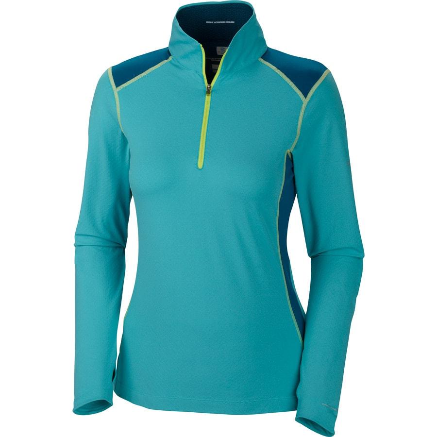 Columbia Freeze Degree 1 2 Zip Shirt Long Sleeve Women