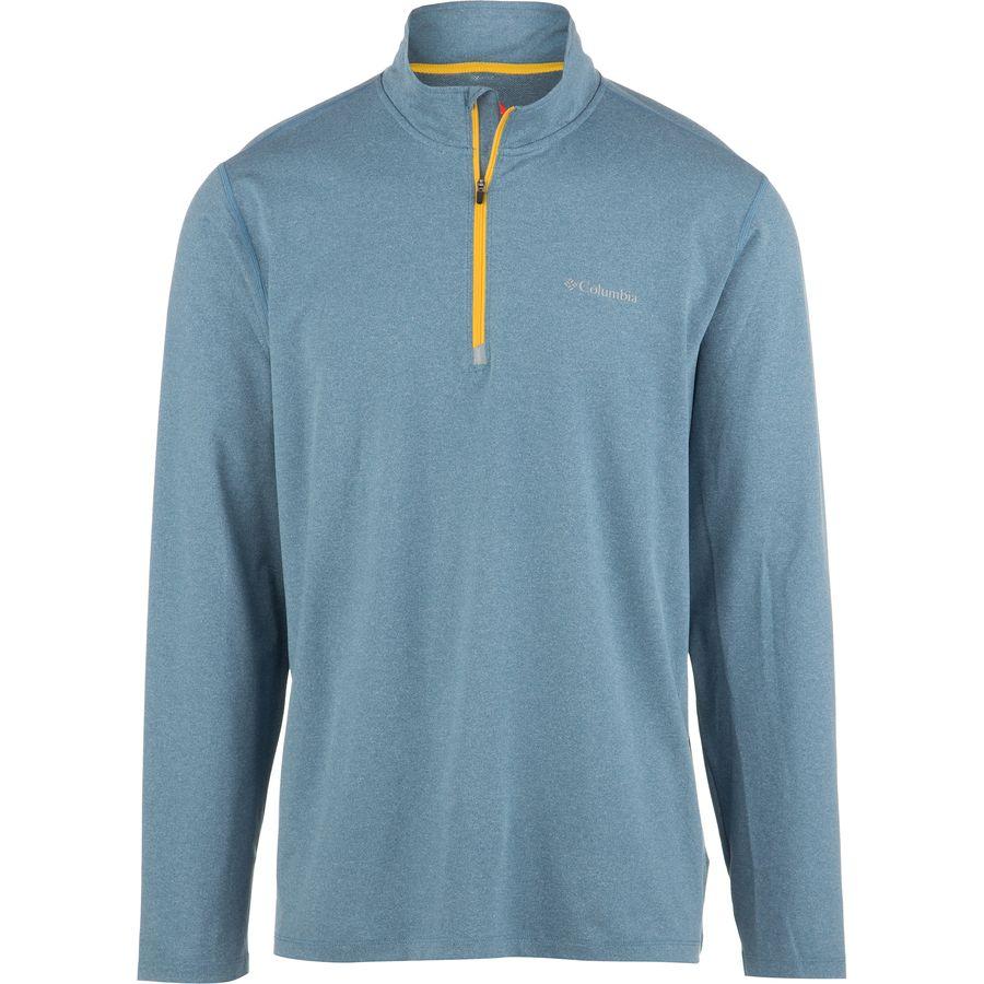 columbia trail summit half zip shirt long sleeve men 39 s