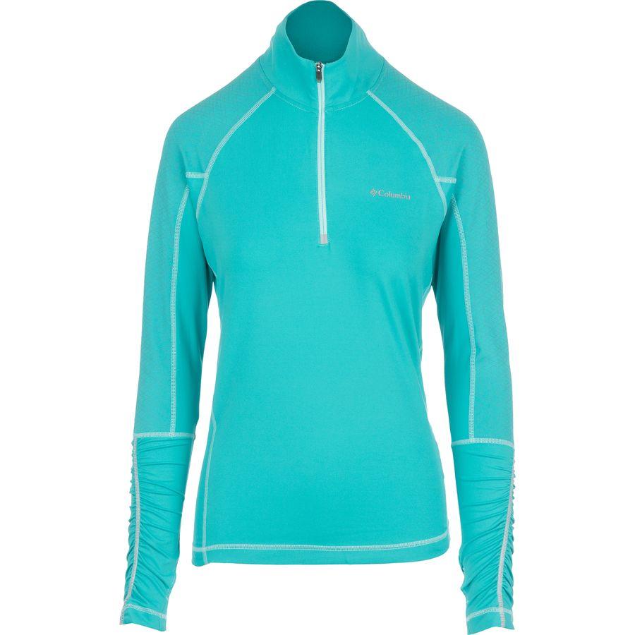 Columbia Trail Flash 1 2 Zip Shirt Long Sleeve Women 39 S