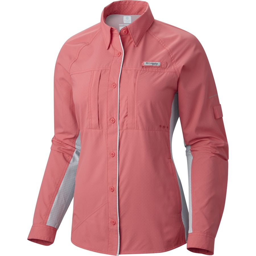 Columbia ultimate catch zero shirt long sleeve women 39 s Columbia womens fishing shirt
