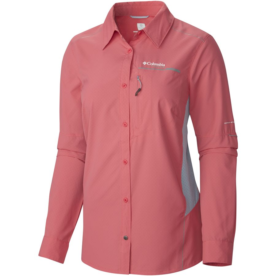 Columbia titan peak shirt long sleeve women 39 s for Baby fishing shirts columbia