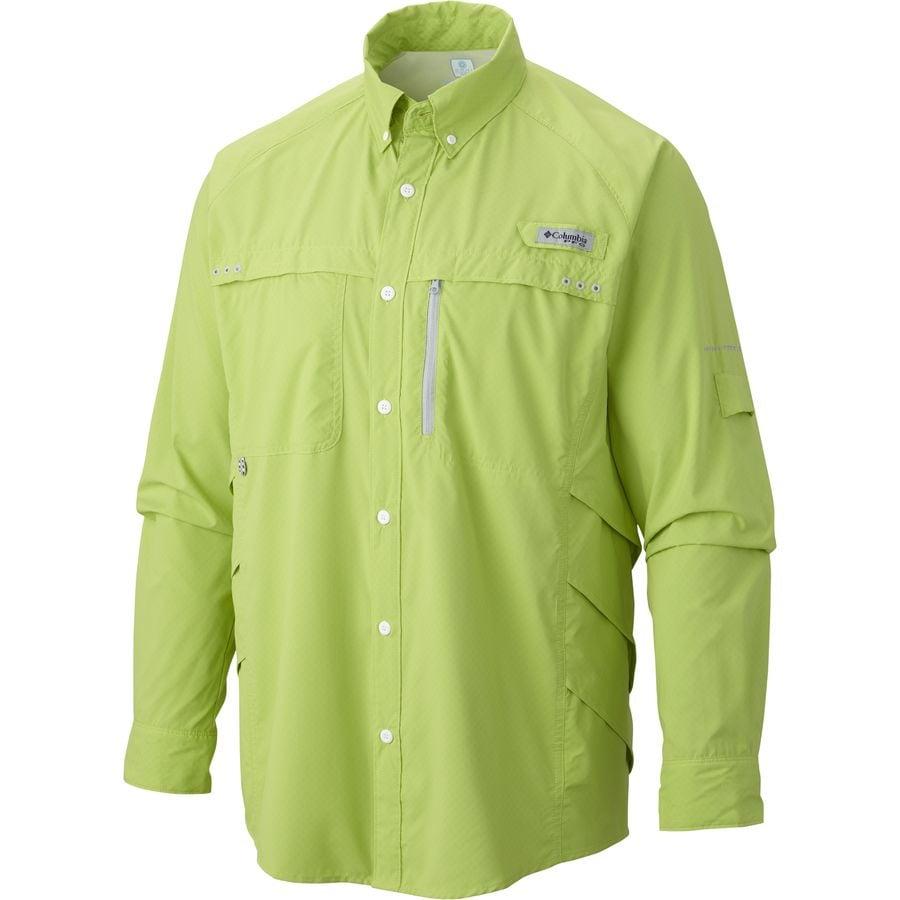 Columbia Airgill Solar Zero Shirt Long Sleeve Men 39 S