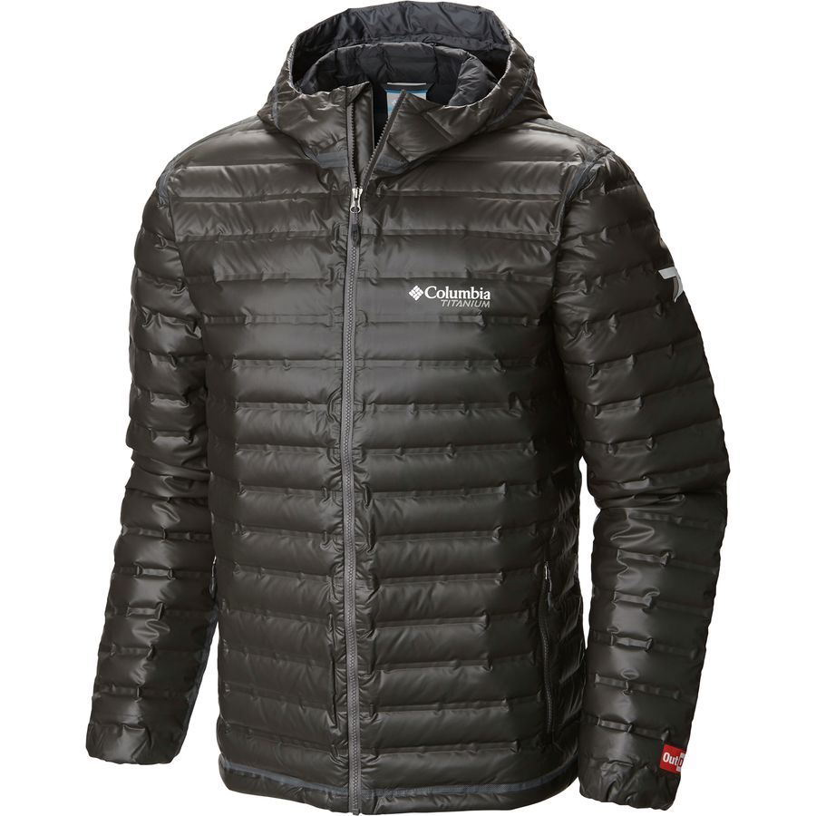 Columbia Outdry Ex Gold Down Hooded Jacket - Mens