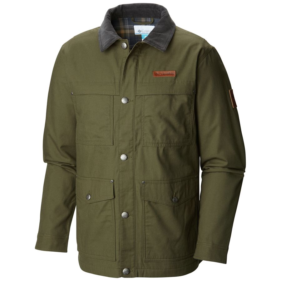 columbia loma vista flannel jacket