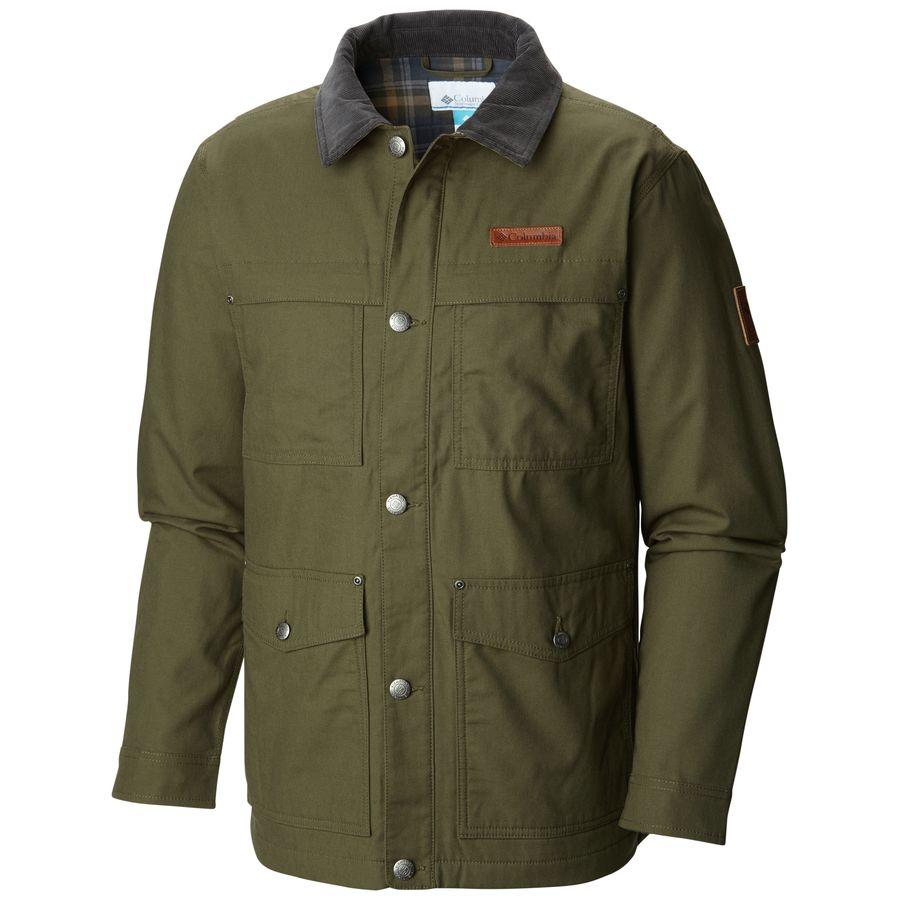 columbia loma vista flannel jacket