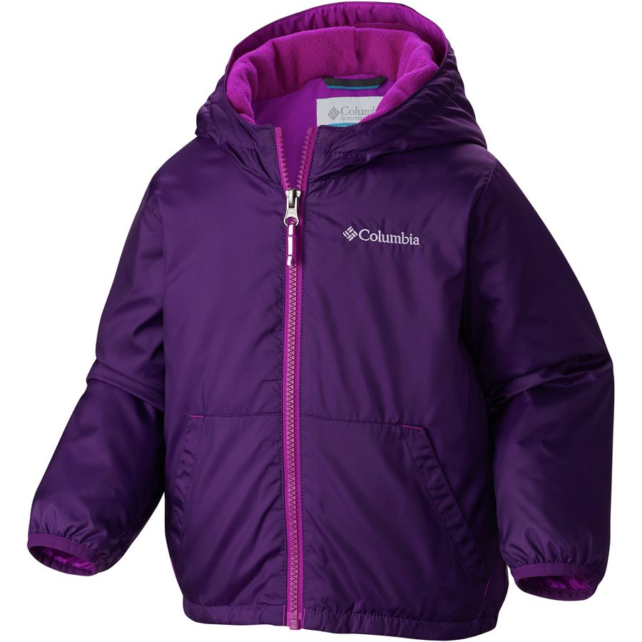 Columbia kitterwibbit jacket toddler girls for Baby fishing shirts columbia