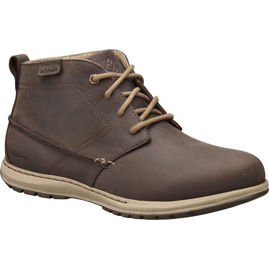 Columbia Davenport Chukka Waterproof Leather Boot - Mens
