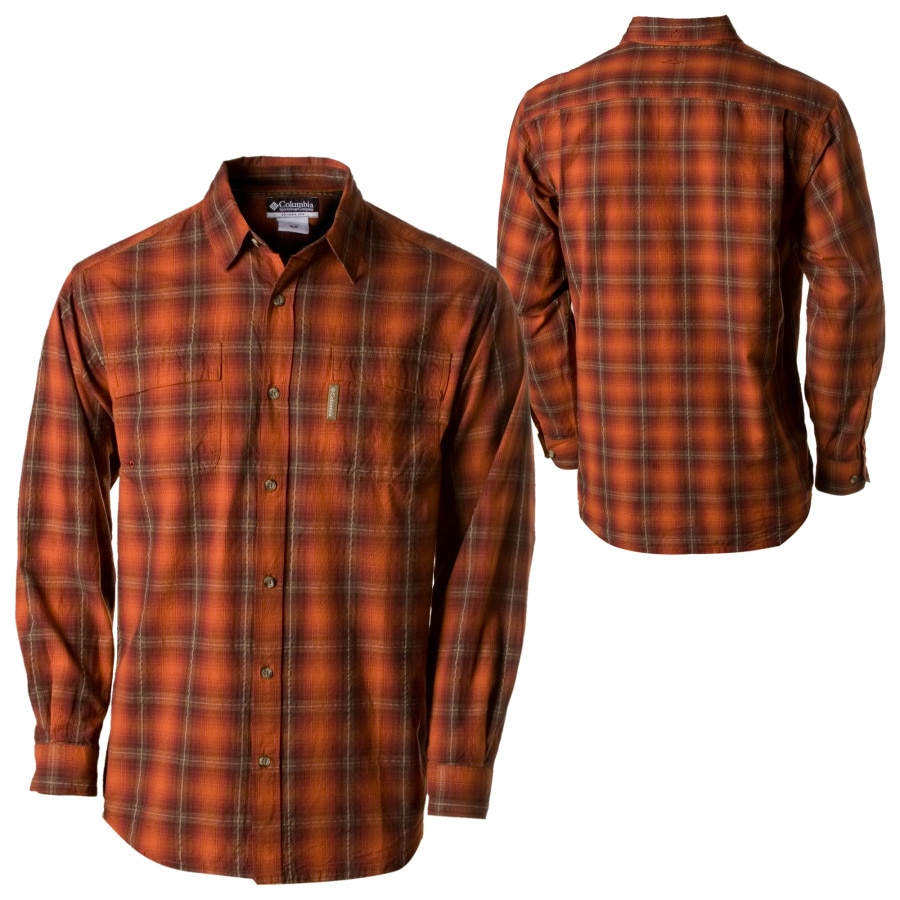 Columbia Arrowwood Point Plaid Button Down Long Sleeve
