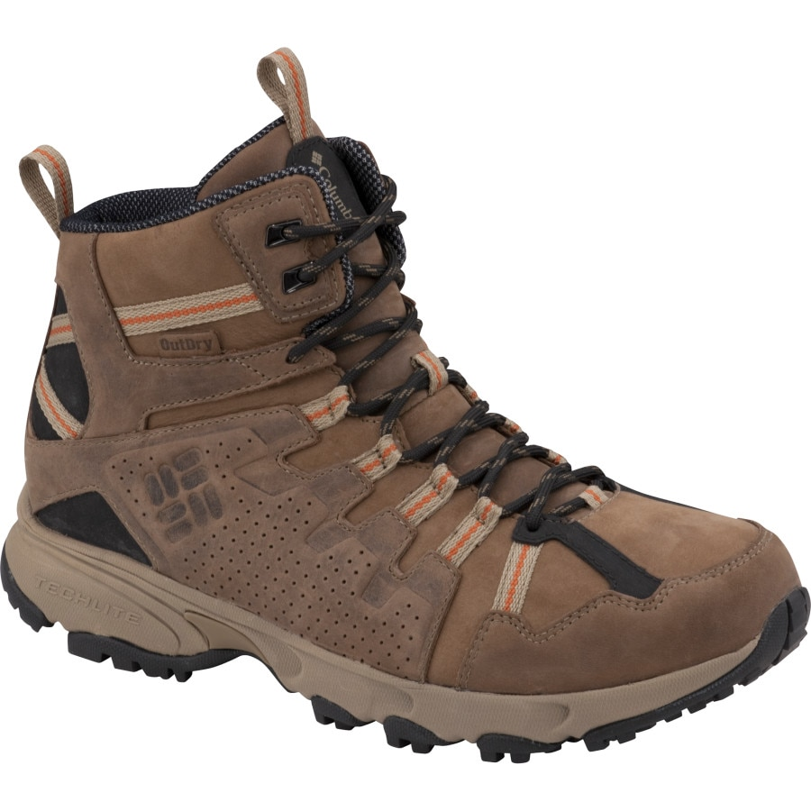 columbia talus ridge mid leather outdry hiking boot