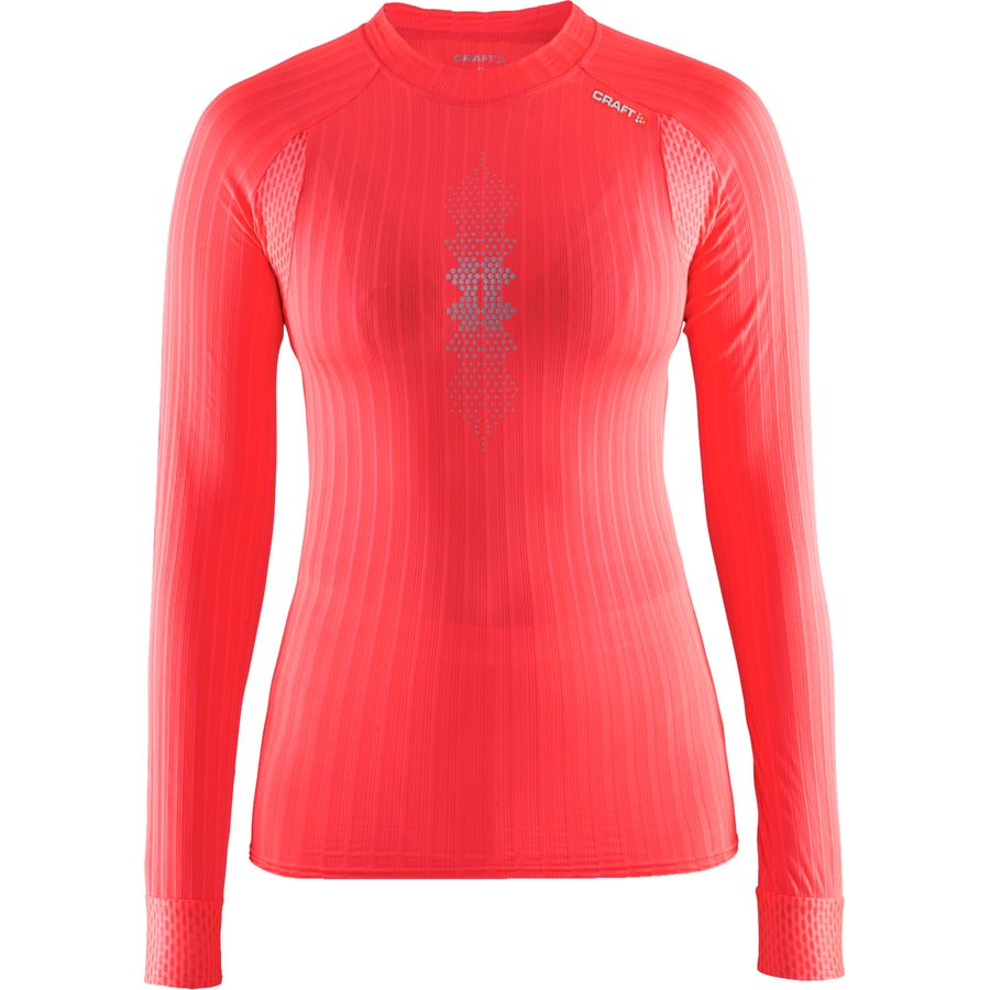 Craft Active Extreme 2.0 Brilliant Crewneck Reflective Baselayer - Womens