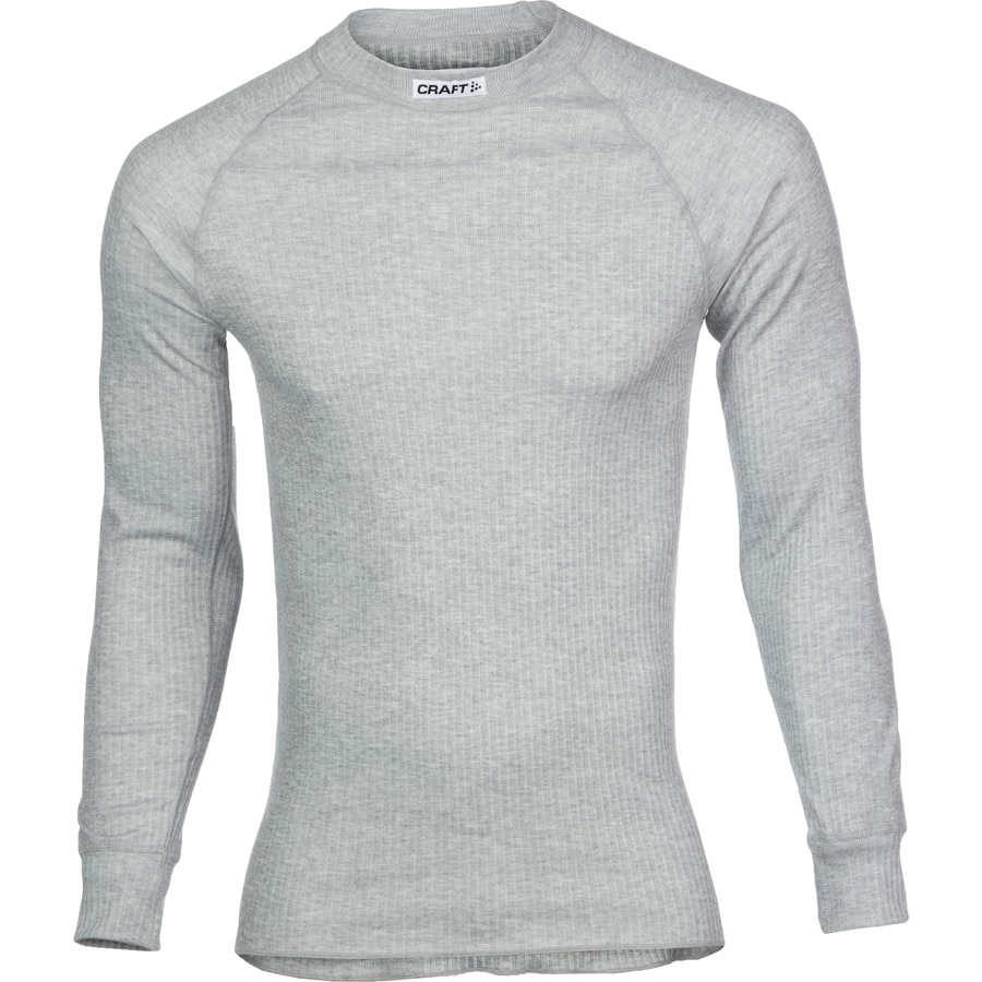 craft active crewneck base layer long sleeve men 39 s