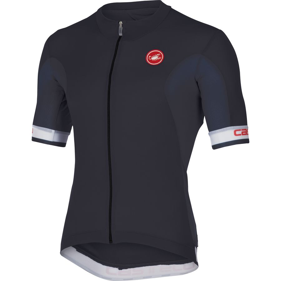 Castelli Volata Full-Zip Jersey - Short Sleeve - Mens