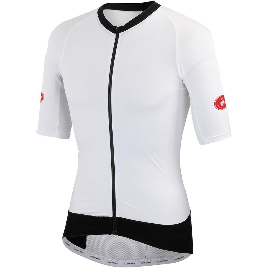 Castelli T1:Stealth Jersey - Short-Sleeve - Mens