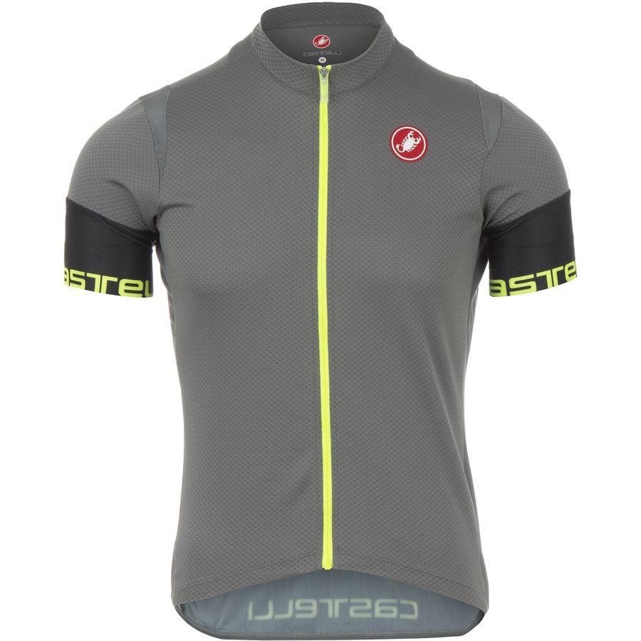 Castelli Entrata 2 Full-Zip Jersey - Mens