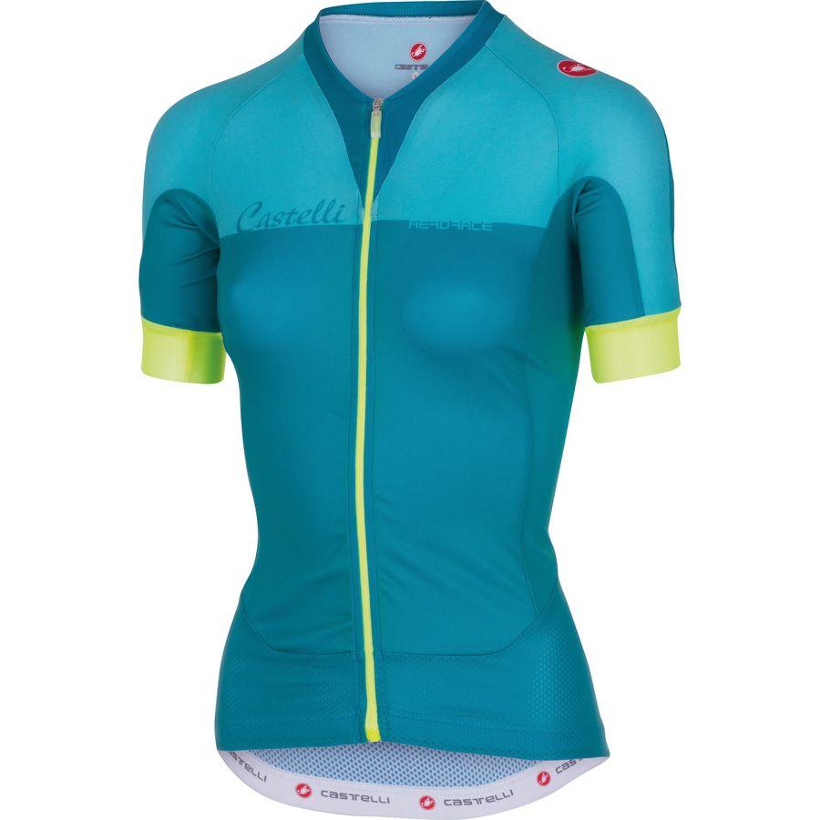 Castelli Aero Race Full-Zip Jersey - Short Sleeve - Women's
