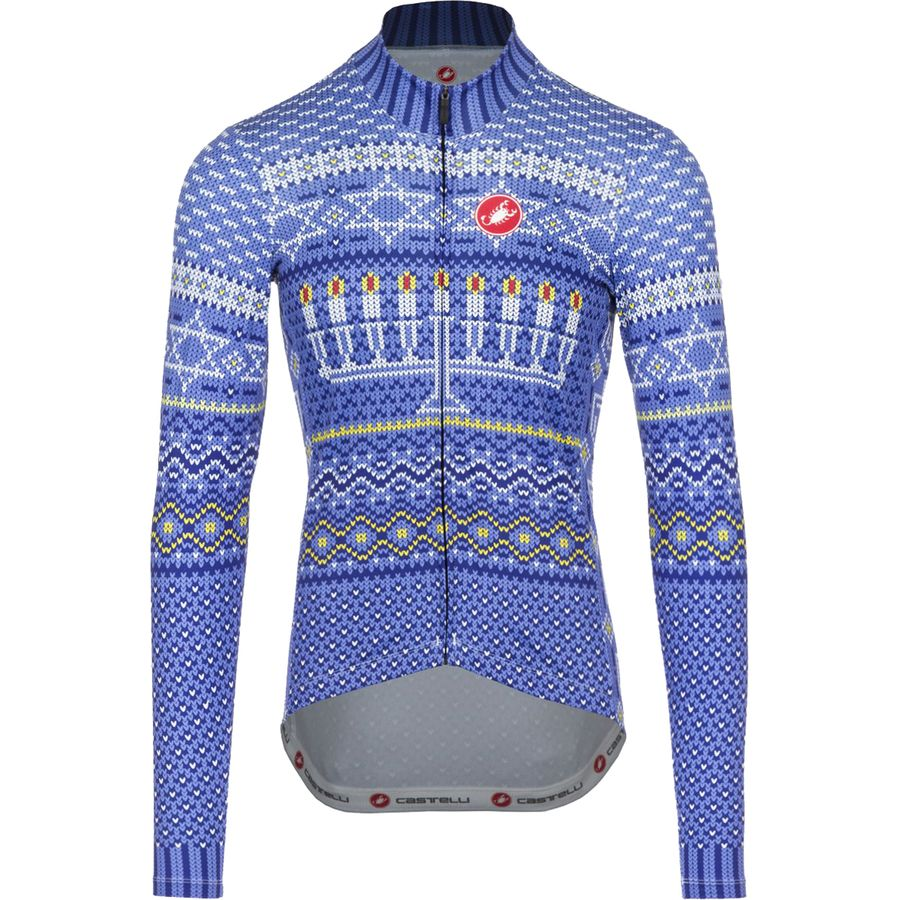 Castelli Hanukkah Sweater Jersey - Long-Sleeve - Mens