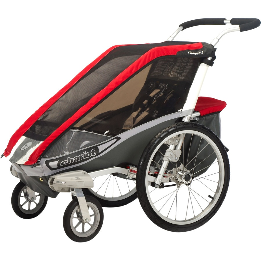 thule chariot cougar 1 stroller with strolling kit. Black Bedroom Furniture Sets. Home Design Ideas