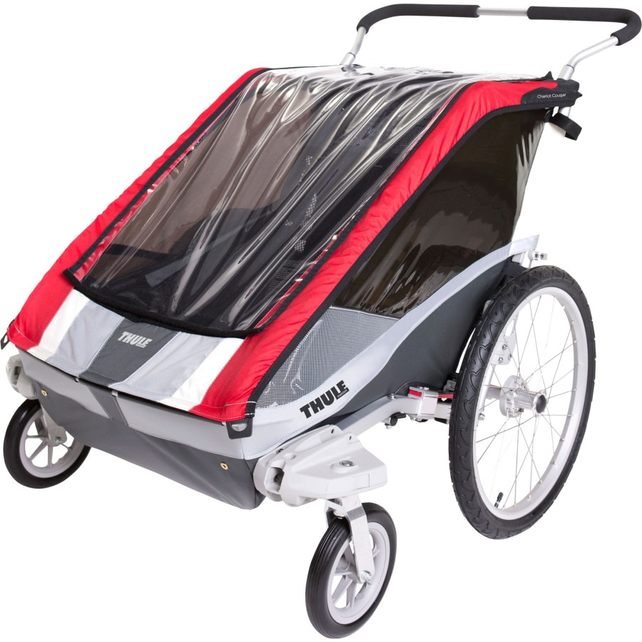 Thule Chariot Cougar 2 Stroller with Strolling Kit ...