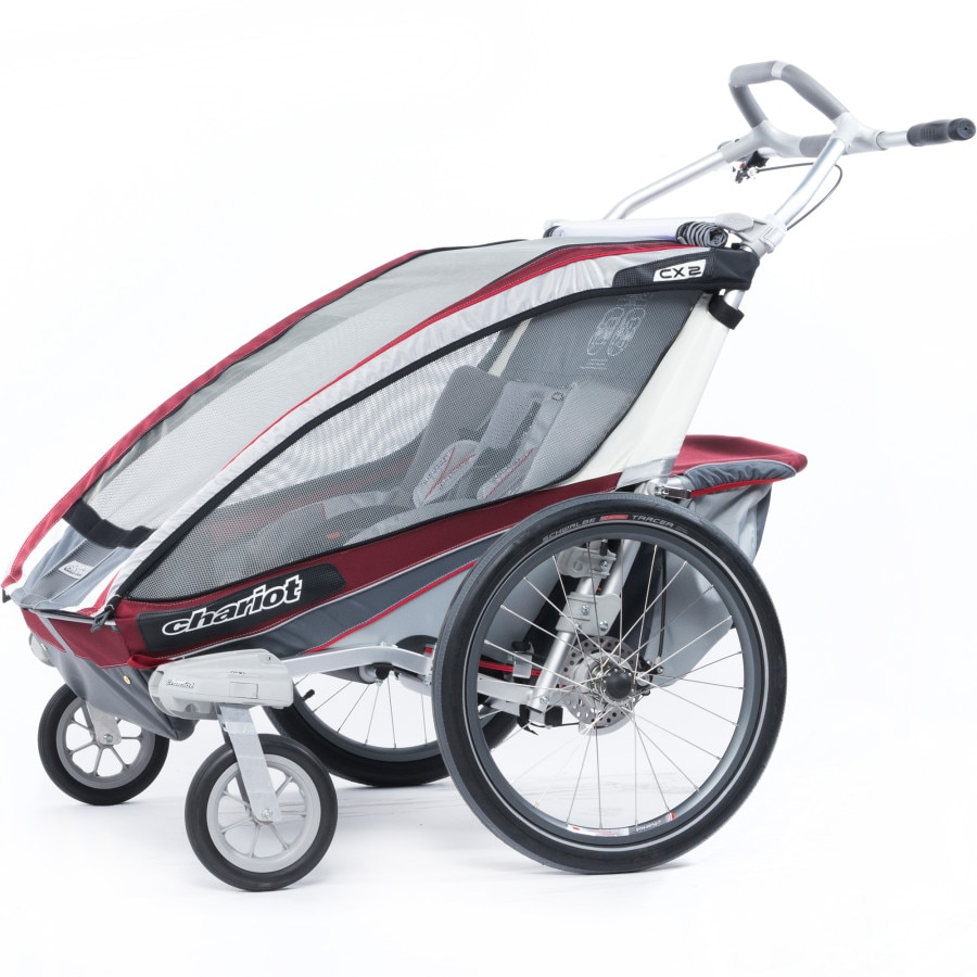 thule chariot cx2 stroller with strolling kit. Black Bedroom Furniture Sets. Home Design Ideas
