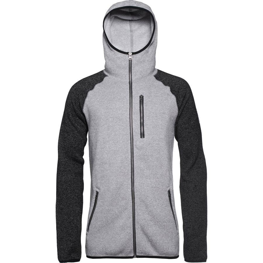 CLWR Knit Fleece Hooded Jacket - Men's