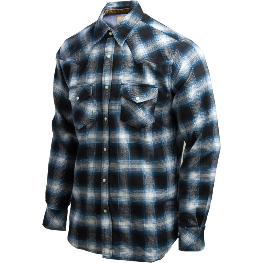 Dakota grizzly keaton flannel shirt long sleeve men 39 s for How to wear men s flannel shirts