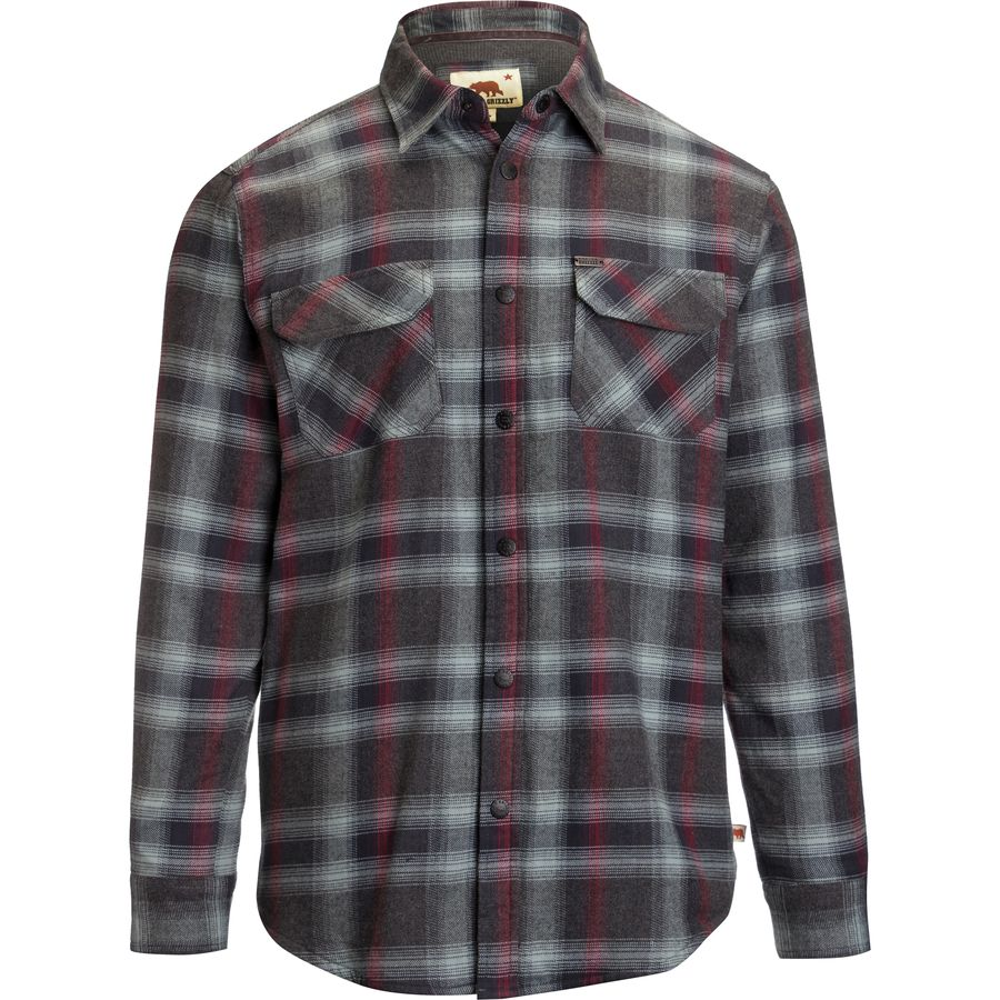 Dakota Grizzly Shayne Flannel Shirt - Long-Sleeve - Mens