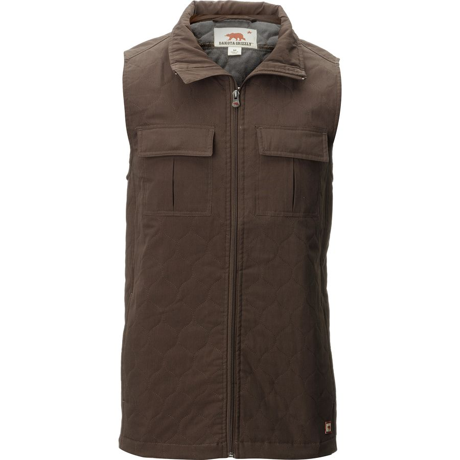 Dakota Grizzly Milo Insulated Vest - Mens