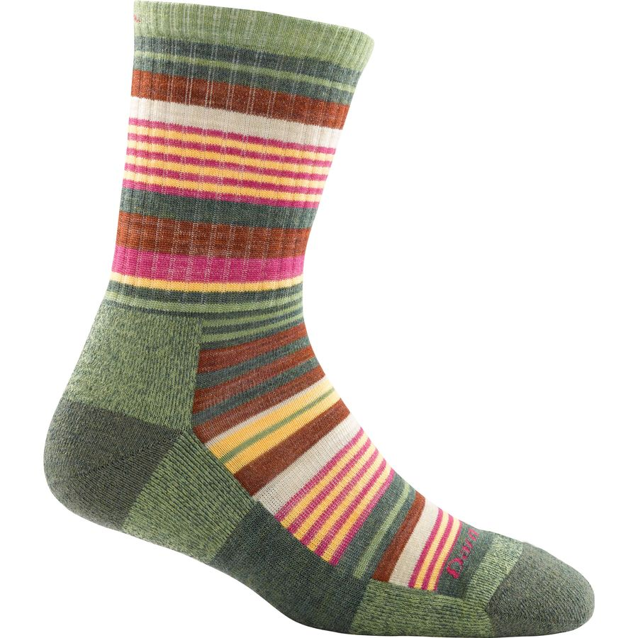 Darn Tough Sierra Stripe Micro Light Cushion Crew Socks - Womens