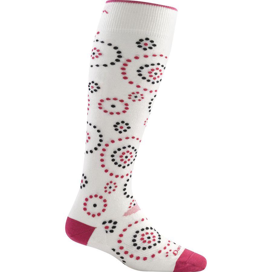 Darn Tough Merino Wool Over-The-Calf Ultra-Light Ski Sock - Womens
