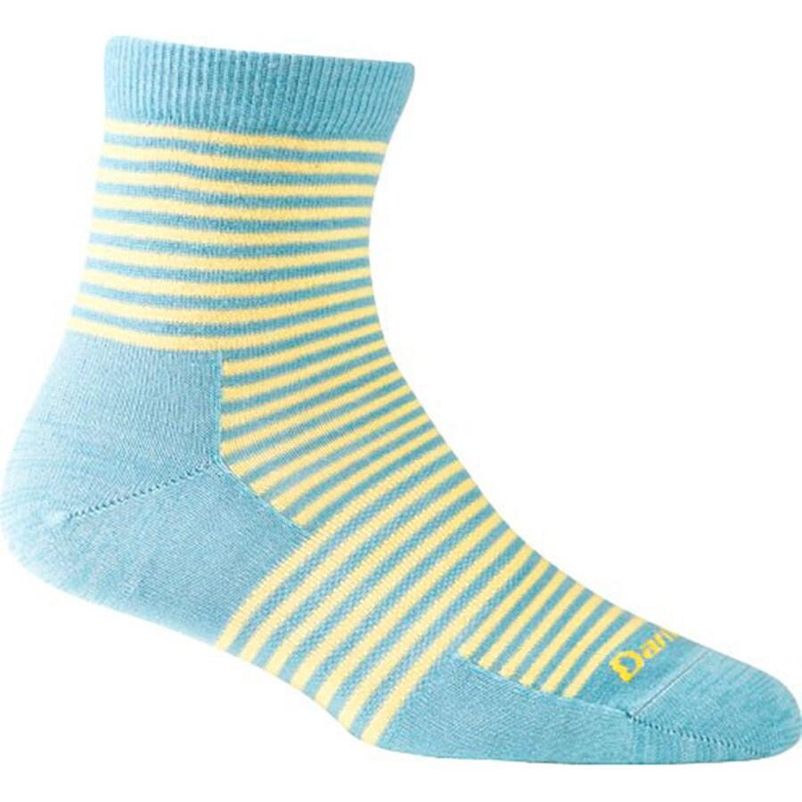 Darn Tough Mini Stripe Shorty Sock - Womens