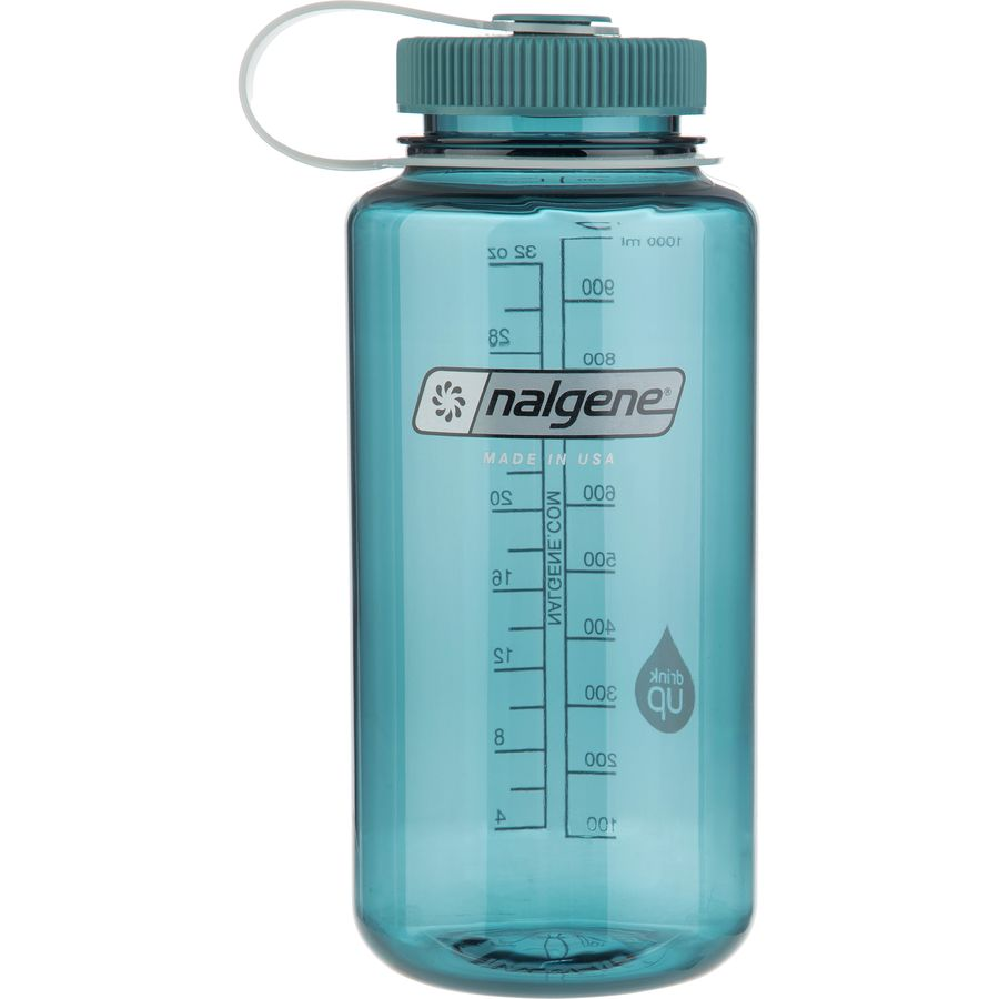 Water Bottle Volume: Nalgene Wide Mouth Water Bottle - 32oz
