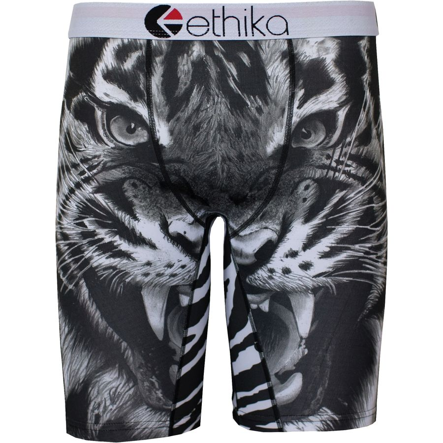 Your underwear also needs to be styling! Ethika makes that possible with their killer Graphic Boxer Briefs for Men and Boys. Plus, you won't just find Ethika's reliably awesome prints, you'll find exclusive styles only at Tillys! Shop today!
