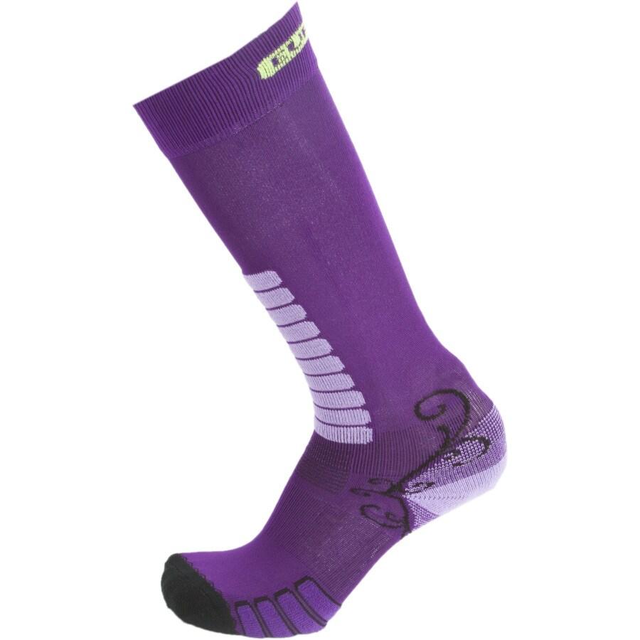 EURO Socks Sweet Silver Ski Socks - Womens