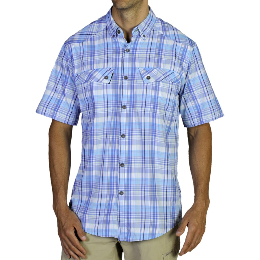 Exofficio minimo plaid shirt short sleeve men 39 s Short sleeve plaid shirts