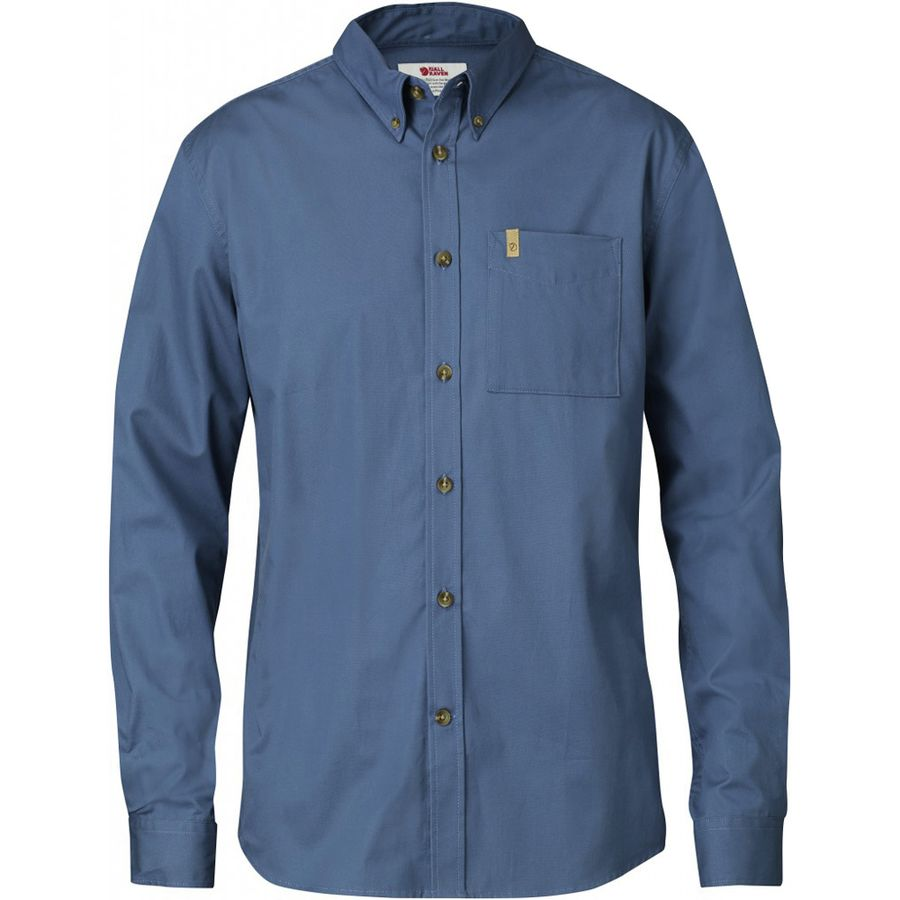 fjallraven ovik solid twill shirt long sleeve men 39 s