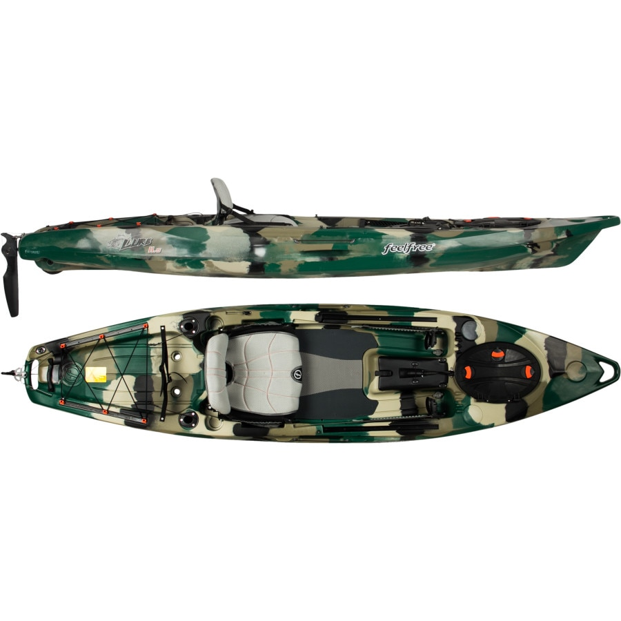 Feelfree lure 11 5 kayak with rudder for Feelfree lure 11 5 with trolling motor