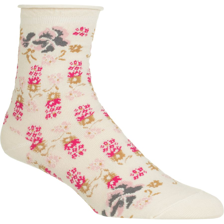 Free People Floral Anklet Sock - Womens
