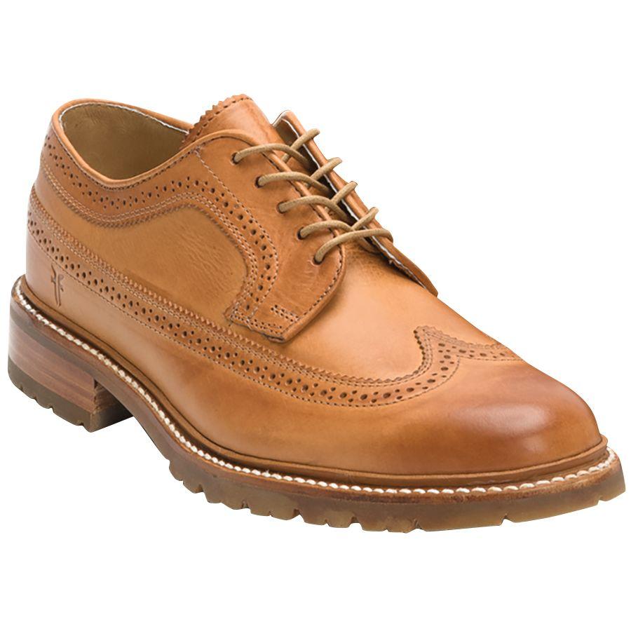 Frye James Lug Wingtip Shoe - Mens