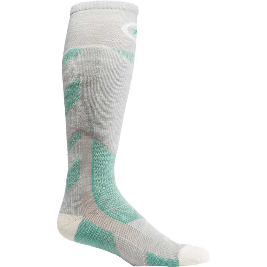 Farm To Feet Park City Midweight Ski Chevron Knit Sock - Womens