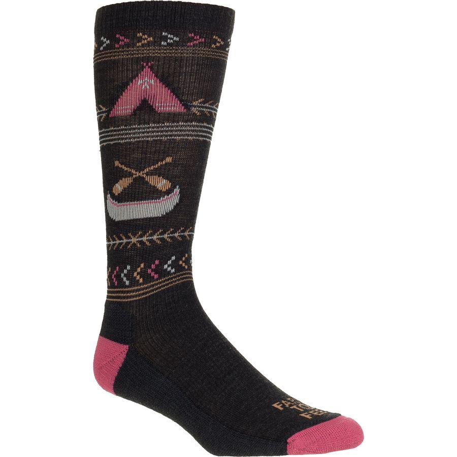 Farm To Feet Franklin Camp Crew Sock - Womens