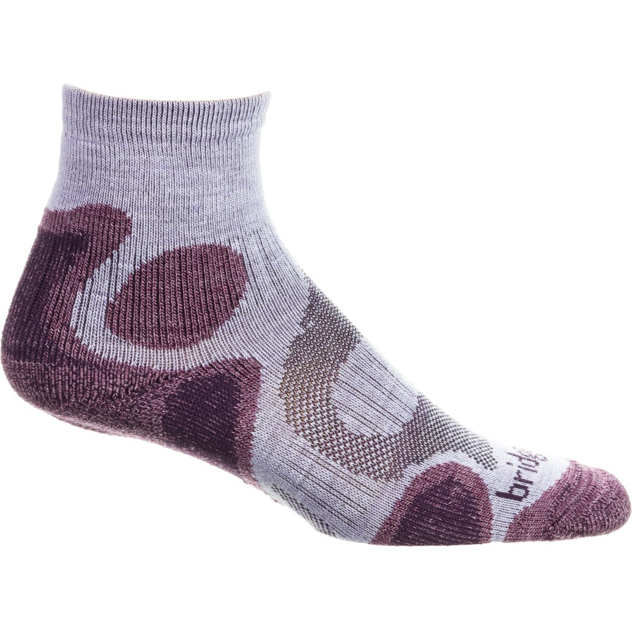 Bridgedale Cool Fusion Trail Diva 3/4 Crew Sock - Womens